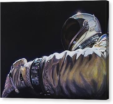 Gemini Xi - Into The Void Canvas Print by Simon Kregar