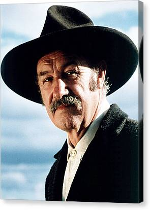 Gene Hackman In Unforgiven  Canvas Print by Silver Screen