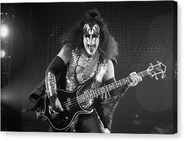 Gene Simmons Canvas Print by Timothy Bischoff