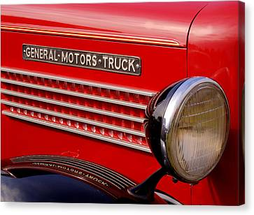 General Motors Truck Canvas Print by Thomas Young