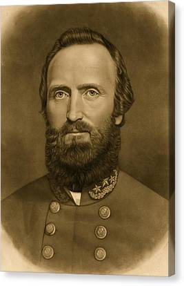 General Stonewall Jackson 1871 Canvas Print by Anonymous