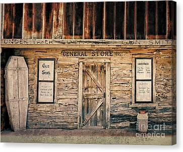 General Store Canvas Print by Betty LaRue