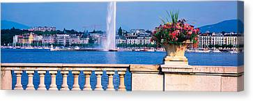 Geneve Switzerland Canvas Print by Panoramic Images