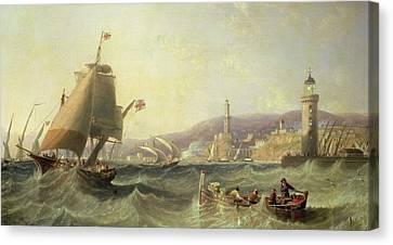 Genoa Canvas Print by John Wilson Carmichael