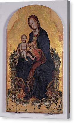 Gentile Di Niccol Known As Gentile Da Canvas Print by Everett