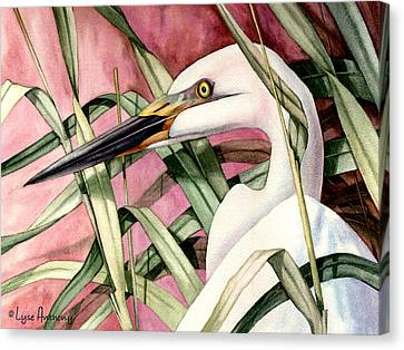 Gentle Breeze Canvas Print by Lyse Anthony