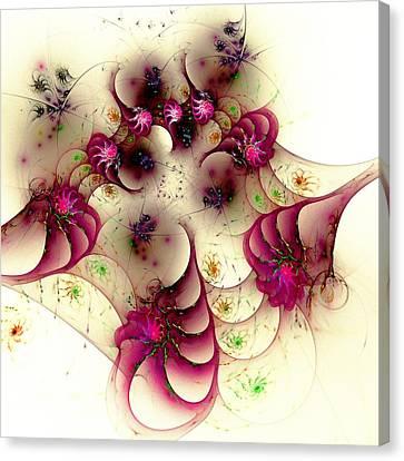 Gentle Pink Canvas Print by Anastasiya Malakhova