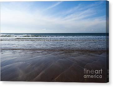 Gentle Waves Canvas Print by Anne Gilbert