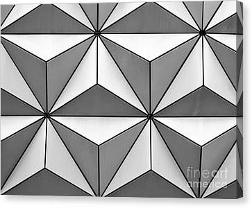 Geodesic Pyramids Canvas Print by Sabrina L Ryan