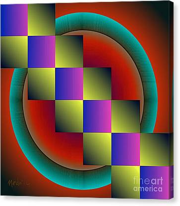 Geometrca 203 Canvas Print by Nedunseralathan R