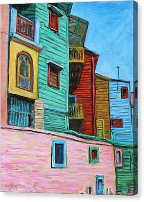 Geometric Colours II Canvas Print by Xueling Zou
