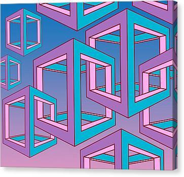 Geometric  Canvas Print by Mark Ashkenazi
