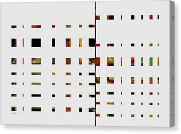 Geometrics -abstract -  Art Canvas Print by Ann Powell