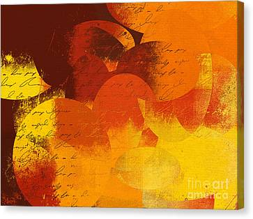 Geomix 05 - 01at02 Canvas Print by Variance Collections