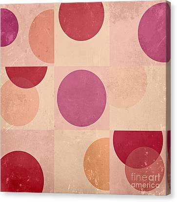 Geomix - C07atdb Canvas Print by Variance Collections