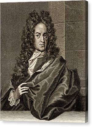 Georg Ernst Stahl Canvas Print by Universal History Archive/uig
