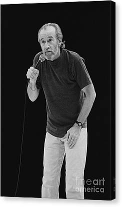 George Carlin Canvas Print by Front Row  Photographs