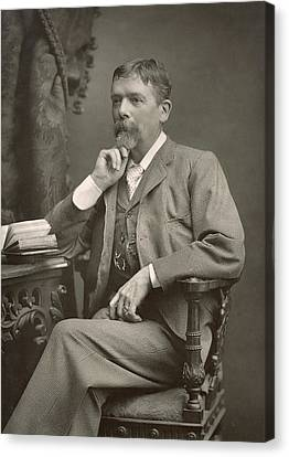 George Du Maurier Canvas Print by Stanislaus Walery
