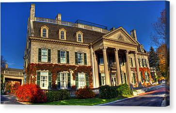 George Eastman House Hdr Canvas Print by Tim Buisman