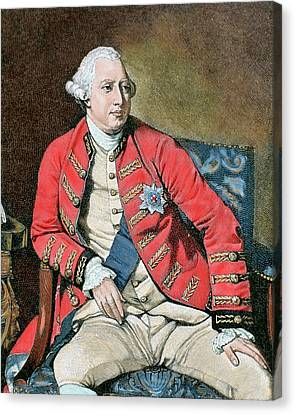 George IIi (london, 1738-windsor, 1820 Canvas Print by Prisma Archivo