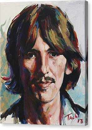 George  Canvas Print by Tachi Pintor
