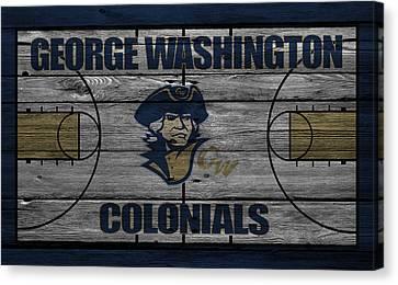 George Washington Colonials Canvas Print by Joe Hamilton