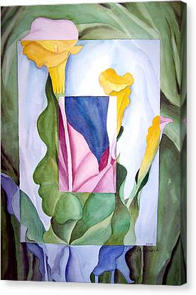 Georgia On My Mind II Canvas Print by Irina Sztukowski