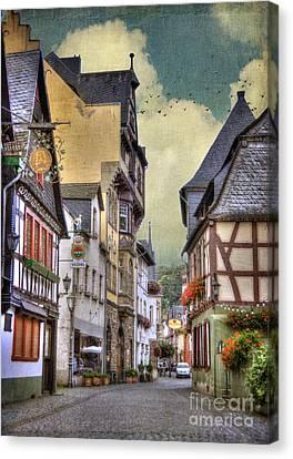 German Village Canvas Print by Juli Scalzi