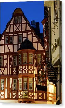 Germany, Hesse, Limburg An Der Lahn Canvas Print by Walter Bibikow