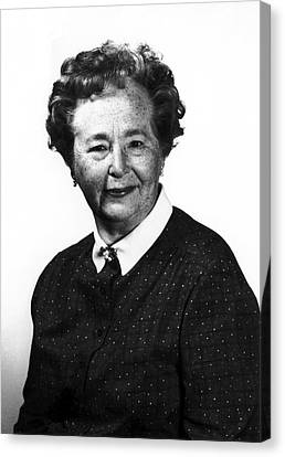 Gertrude Elion Canvas Print by National Cancer Institute