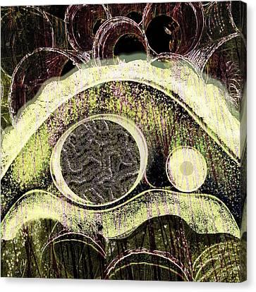 Gestalt Canvas Print by Maria Jesus Hernandez