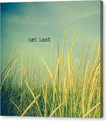 Get Lost Canvas Print by Joy StClaire