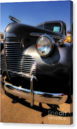 Get The Lead Out Canvas Print by Andrew Brooks