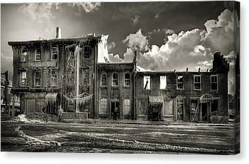 Ghost Of Our Town Canvas Print by Jaki Miller