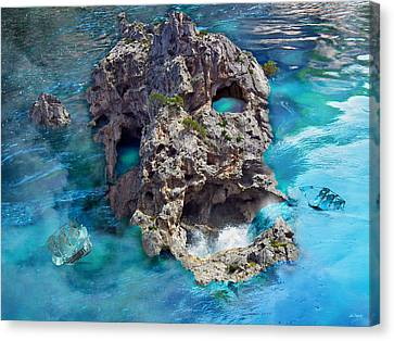 Ghost Rock Canvas Print by Johnny Trippick