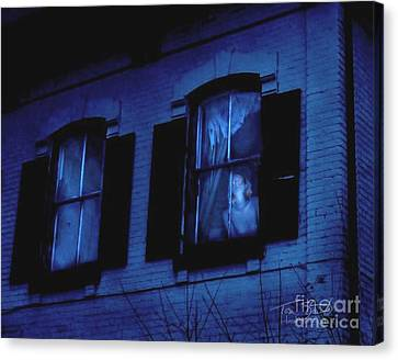 Ghost Town Resident Canvas Print by Tom Straub
