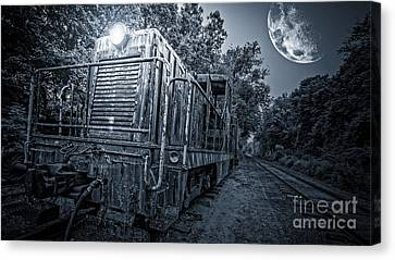 Ghost Train Canvas Print by Edward Fielding