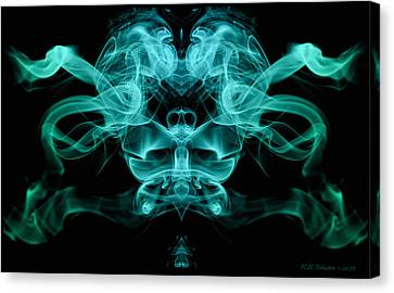 Ghostface Canvas Print by WB Johnston