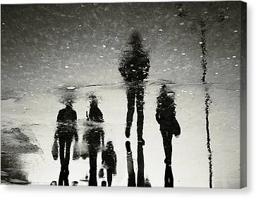 Ghosts Of The City Canvas Print by Cambion Art