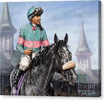 Giacomo At Churchill Canvas Print by Thomas Allen Pauly