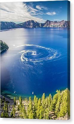 Giant Swirl Phenomenon Canvas Print by Pierre Leclerc Photography