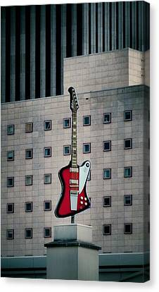Gibson Canvas Print by Dan Sproul