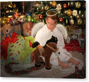 Gift Of Christmas Canvas Print by Doug Kreuger