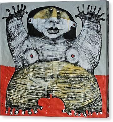 Gigantes No. 7 Canvas Print by Mark M  Mellon