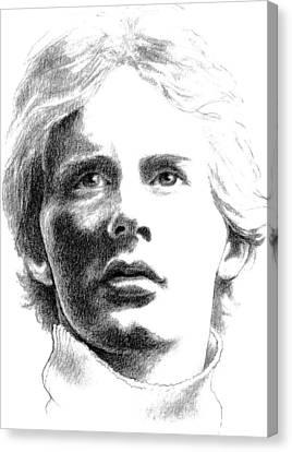 Gilles Villeneuve Canvas Print by Diane Fine