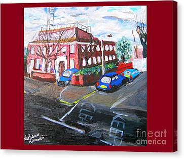 Gipsy Hill Police Station - Crystal Palace Canvas Print by Mudiama Kammoh