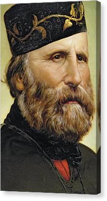 Giuseppe Garibaldi Canvas Print by Unknown