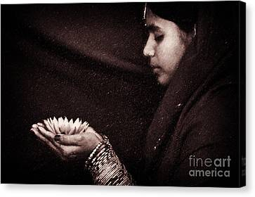 Giving Canvas Print by Tim Gainey