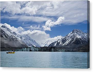 Glacier Explorers Canvas Print by Ng Hock How