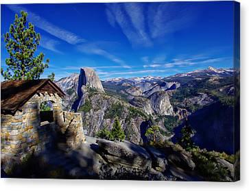 Glacier Point Yosemite National Park Canvas Print by Scott McGuire
